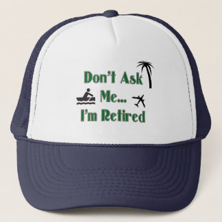 RETIREMENT Baseball Cap