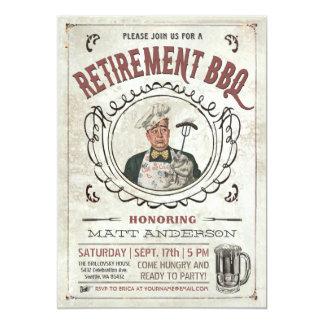 Retirement BBQ Invitations v.3