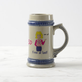 Retirement Beer Stein