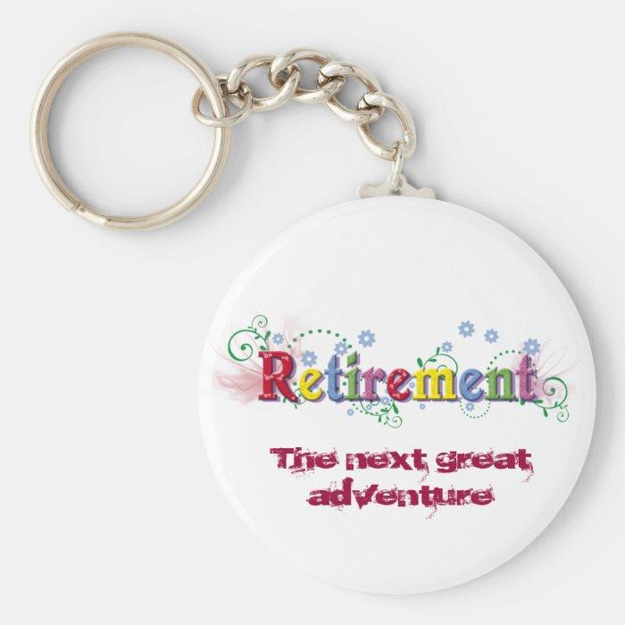 Retirement Bliss Keychain