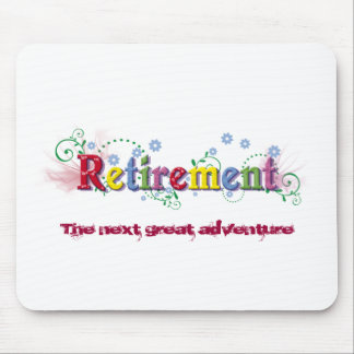 Retirement Bliss Mouse Pad