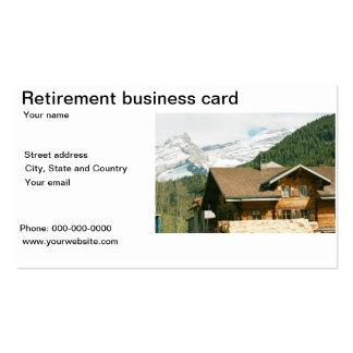beach retirement business cards templates zazzle. Black Bedroom Furniture Sets. Home Design Ideas