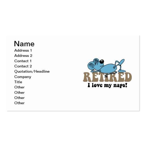 Retired business card templates bizcardstudio retirement business cards colourmoves