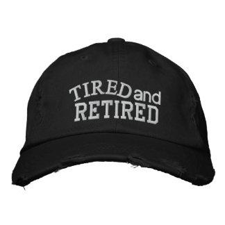Retirement Cap - SRF Embroidered Baseball Cap