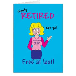 Retirement Card