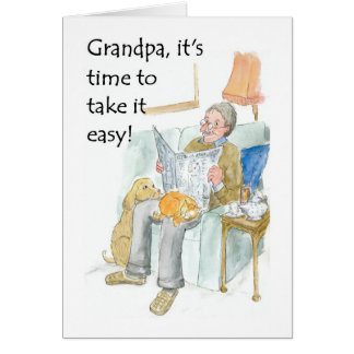 Retirement Card for a Grandfather