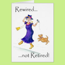 Retirement Card for a Woman