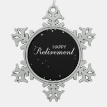 Happy Retirement Ornaments & Keepsake Ornaments | Zazzle