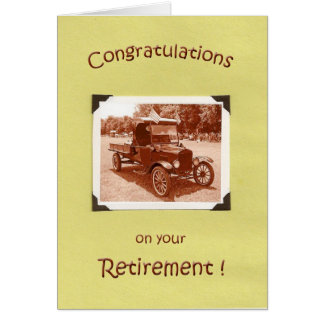 Retirement Congratulations Greeting Cards