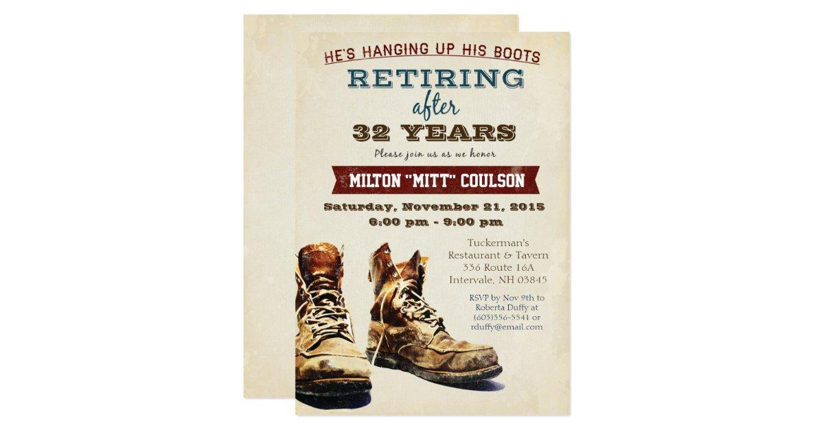 Retirement Invitations 3600 Retirement Announcements Invites – Retirement Invitation