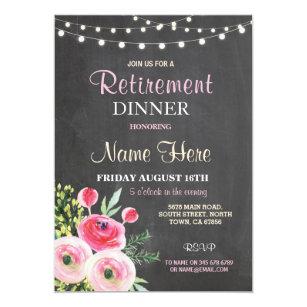 retirement announcements invites zazzle