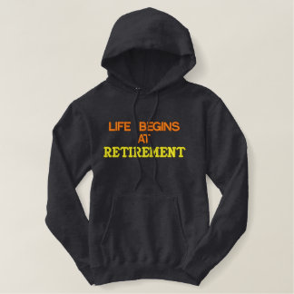 Retirement Embroidered Shirt