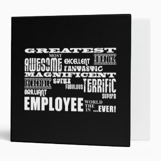 Retirement Employees  Greatest Employee World Ever 3 Ring Binder