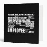 Retirement Employees  Greatest Employee World Ever Binders