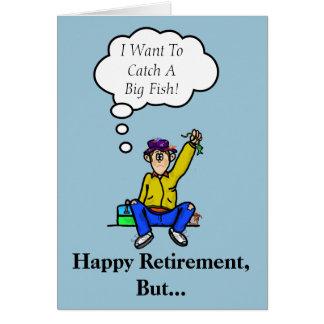 Retirement Fisherman Card  Customize It!