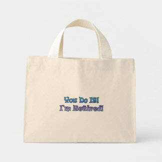 Retirement Gifts and Retirement T-shirts Canvas Bags