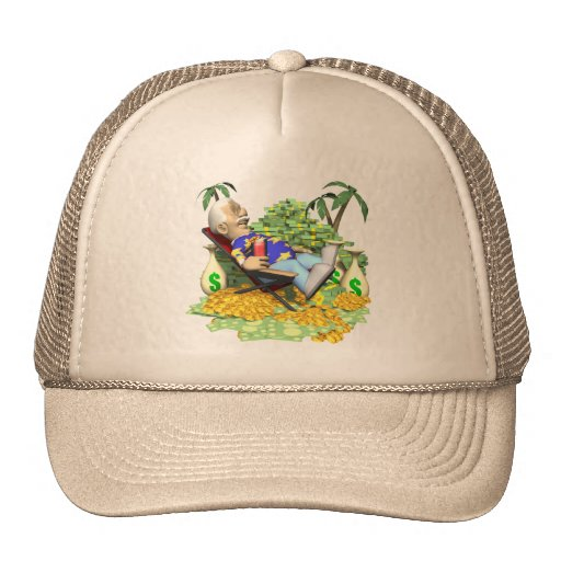 Retirement Gifts and Retirement T-shirts Mesh Hats