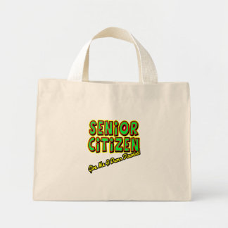 Retirement Gifts and Retirement T-shirts Mini Tote Bag