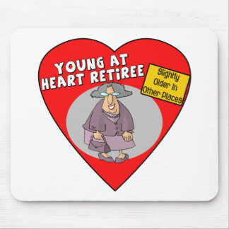 Retirement Gifts and Retirement T-shirts Mouse Pad
