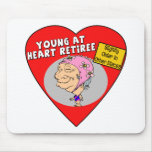 Retirement Gifts and Retirement T-shirts Mouse Pads