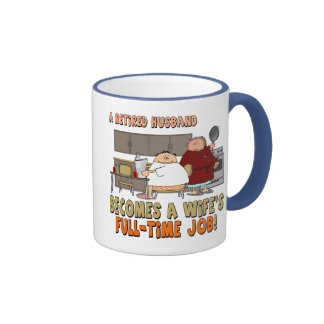 Retirement Gifts and Retirement T-shirts Ringer Coffee Mug