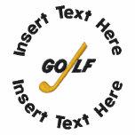 Retirement Golf Embroidered Shirt