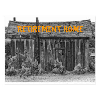 Retirement Home Post Card