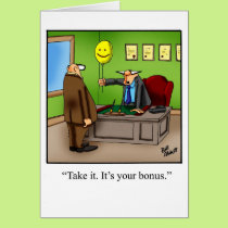 "Retirement Humor Greeting Card ""Spectickles"""