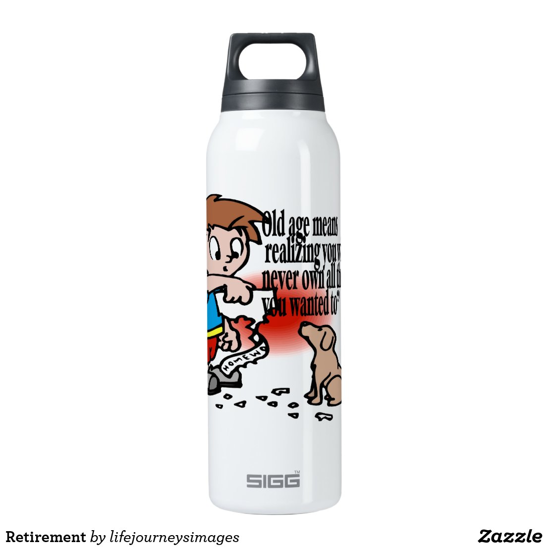 Retirement Insulated Water Bottle