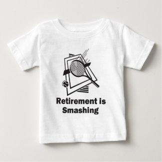 Retirement is Smashing Baby T-Shirt