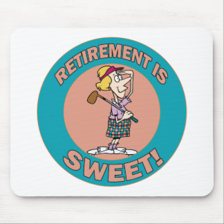 Retirement Is Sweet (2) Mouse Pad