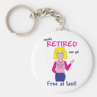 Retirement Keychain