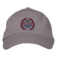 Retirement Laurels Personalize it! Embroidered Cap Embroidered Hat
