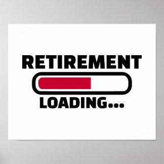 Retirement loading poster