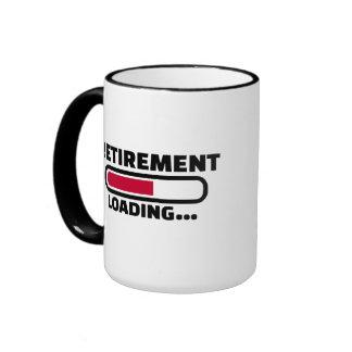Retirement loading ringer mug