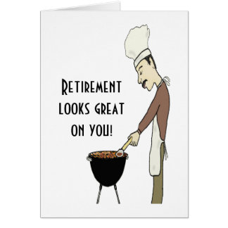 Retirement looks great on you Card