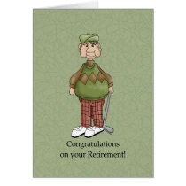 Retirement Male - Humor Card