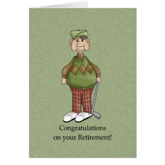 Retirement Male - Humor Greeting Card