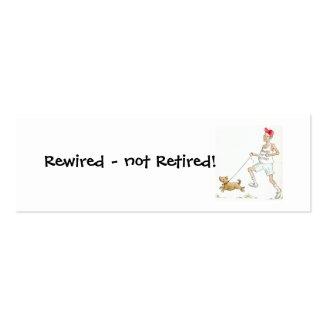 Retirement Motivational Bookmark profilecard
