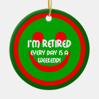 retirement christmas ornaments