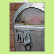 Retirement Parking Meter Card