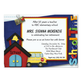 Retirement Party 5x7 Paper Invitation Card