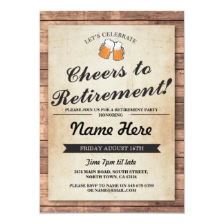 retirement party invitations & announcements | zazzle, Party invitations