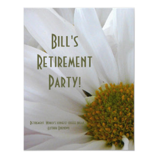 Retirement Party-Daisy+Humor Quote Card