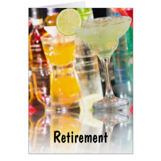 RETIREMENT-PARTY ENJOY CELEBRATE YOUR DAY GREETING CARD