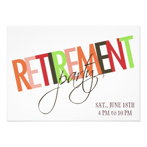 Nurse Retirement Invitations as great invitation example