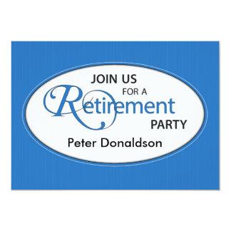 Retirement Party Invitation Personalize Name, Eleg