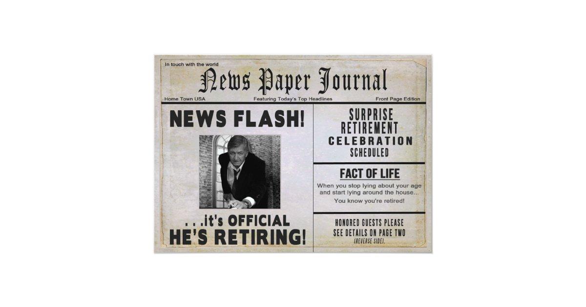 Retirement Party Invitations – gangcraft.net
