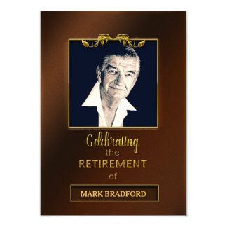 Retirement Party Invitation - Photo/Name Insert