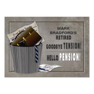 Retirement Party Invitation -Tension-Pension